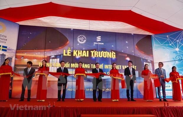 Inauguran en Vietnam centro innovador de alta tecnologia hinh anh 1