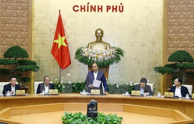 Insta premier vietnamita a realizar esfuerzos para cumplir objetivos anuales hinh anh 1