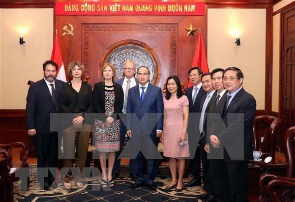 Paises Bajos listos para impulsar lazos con Ciudad de Ho Chi Minh, segun ministra neerlandesa hinh anh 1