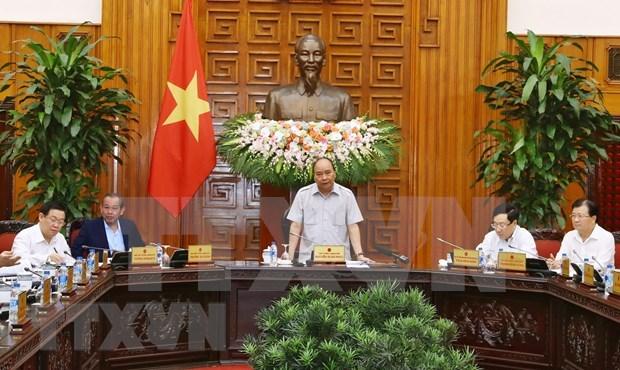 Discute Gobierno de Vietnam ejecucion de proyectos BT y Ley de Planificacion hinh anh 1