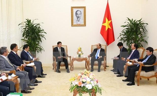 Destaca premier de Vietnam potencialidades de cooperacion con Japon en proteccion ambiental hinh anh 1