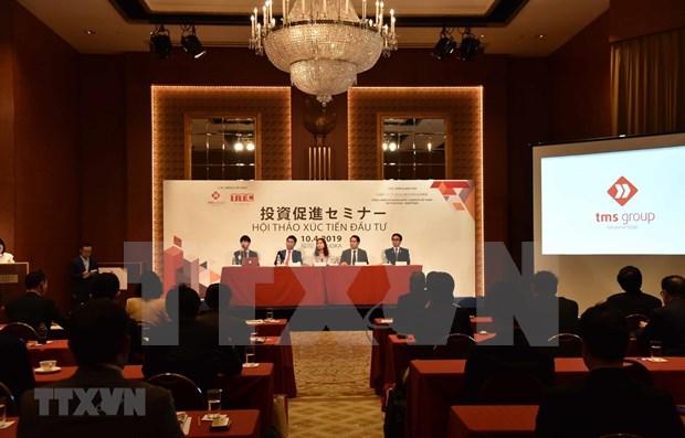 Planean ampliar negocios empresas japonesas que operan en Vietnam hinh anh 1