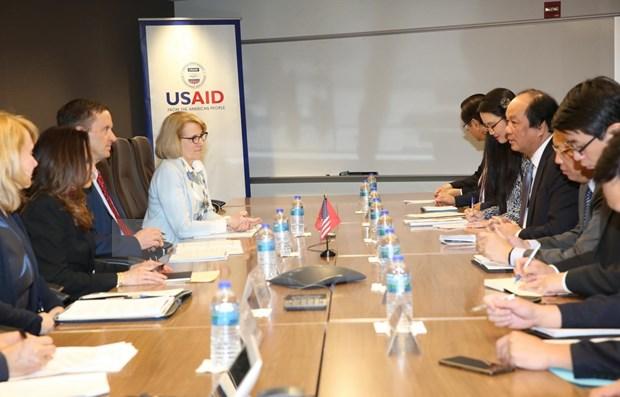 Valora Vietnam asistencia de la Agencia de Estados Unidos para el Desarrollo hinh anh 1