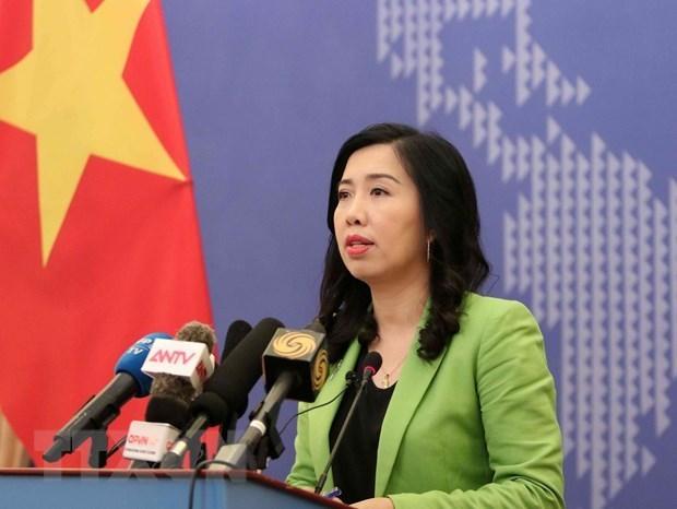 Ningun vietnamita afectado por el incendio en Bangkok, afirma portavoz de Cancilleria hinh anh 1
