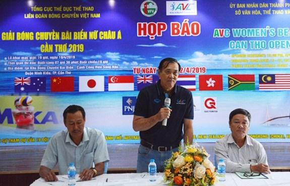 Celebraran en Vietnam Torneo Femenino Asiatico de Voleibol de Playa 2019 hinh anh 1