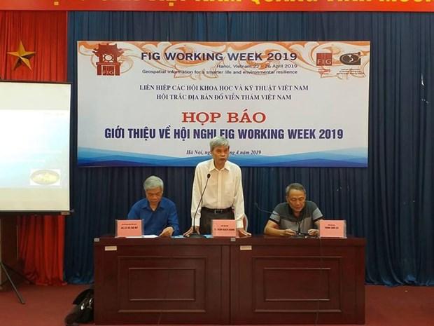 Asistiran mas de 700 cientificos extranjeros a Conferencia Internacional de Geodesia en Vietnam hinh anh 1
