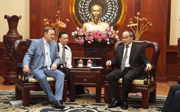 Proyecta Ciudad Ho Chi Minh fomentar cooperacion con el estado aleman de Turingia hinh anh 1