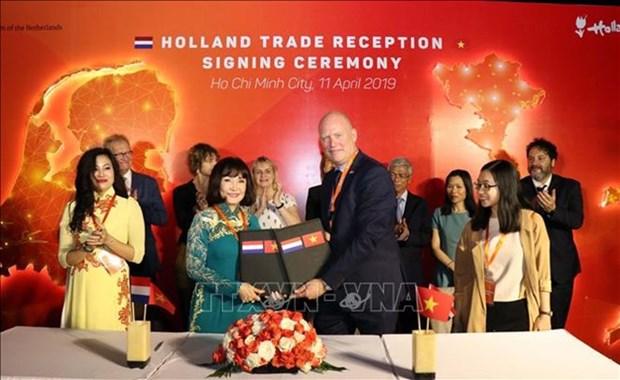 Impulsan cooperacion entre Paises Bajos y Ciudad Ho Chi Minh hinh anh 1