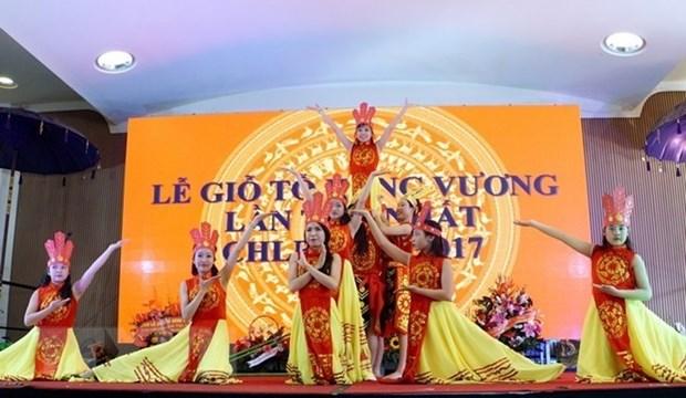 Celebran Dia Ancestral de Vietnam en tres continentes hinh anh 1