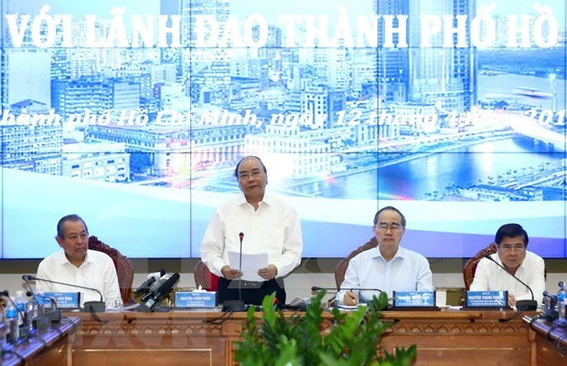 Insta premier de Vietnam a Ciudad Ho Chi Minh a tomar vanguardia en revolucion industrial hinh anh 1