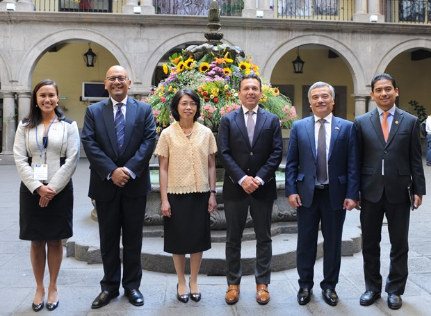 Promueven paises de ASEAN en Mexico comercio con estado de Jalisco hinh anh 6