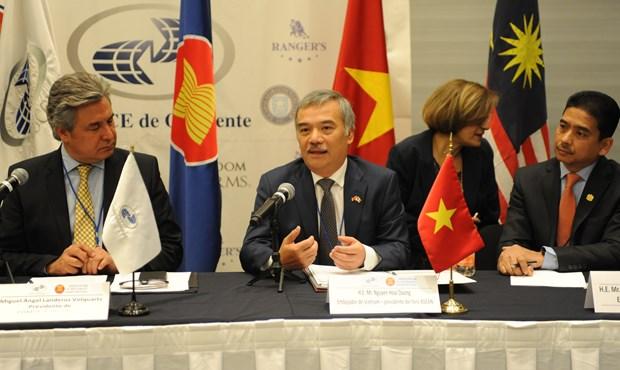Promueven paises de ASEAN en Mexico comercio con estado de Jalisco hinh anh 2