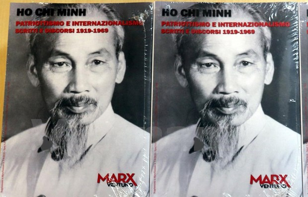 """Presentan libro """"Ho Chi Minh – Patriotismo e Internacionalismo"""" en Italia hinh anh 1"""