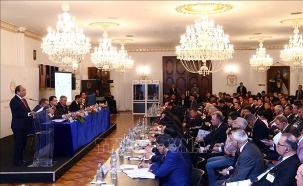 Premier vietnamita exhorta fomentar los lazos economicos con Rumania hinh anh 1