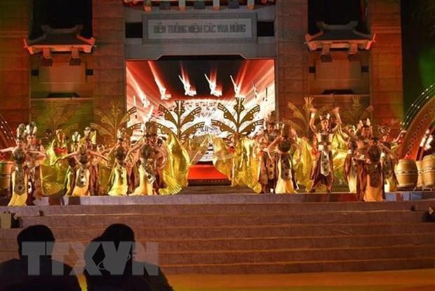 Recibe Memorial de los reyes Hung en Ciudad Ho Chi Minh casi tres millones de visitantes hinh anh 1