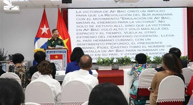 Celebran en Vietnam aniversario de la victoria historica de Playa Giron hinh anh 1
