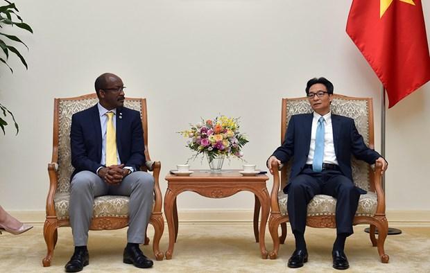 Desea Vietnam ampliar nexos con la Republica de las Seychelles hinh anh 1