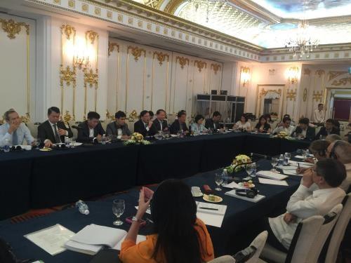 Comparten Vietnam y Cuba experiencias sobre la reforma de empresas estatales hinh anh 1