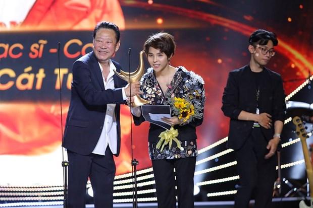 Premios de Agencia Vietnamita de Noticias patentizan ascenso femenino en la musica hinh anh 1
