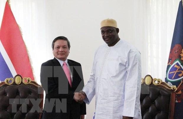 Promueve Gambia el fortalecimiento de sus nexos comerciales con Vietnam hinh anh 1