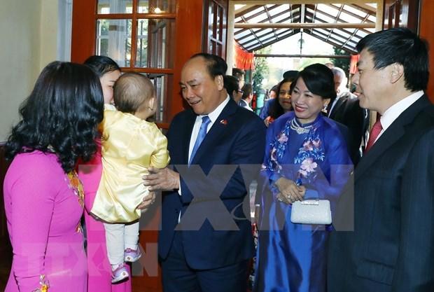 Destacan premier vietnamita aportes de Union de Asociaciones de connacionales en Europa hinh anh 3
