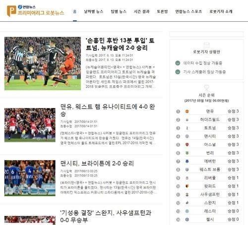 Destaca agencia de noticias de Corea del Sur el exito de sus robots reporteros hinh anh 1