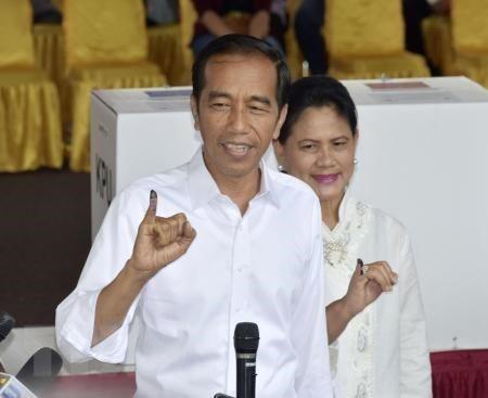 Presidente indonesio pide la unidad nacional despues de las elecciones hinh anh 1