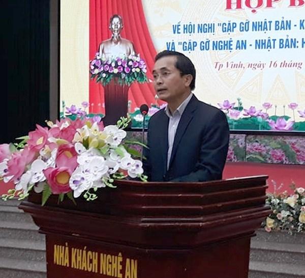 Fomentan relaciones de cooperacion entre provincia vietnamita de Nghe An y Japon hinh anh 1