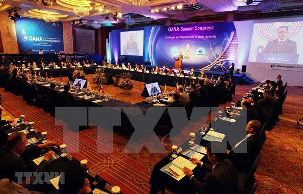 Miembros de OANA unen esfuerzos en Vietnam para la lucha contra informaciones falsas hinh anh 1