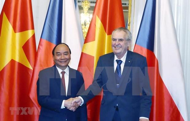 Prioriza Vietnam desarrollo de relaciones con la Republica Checa hinh anh 1