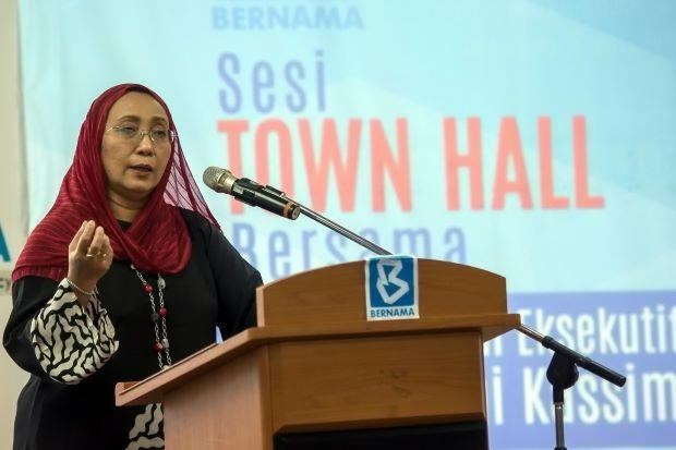 Destaca directora de agencia malasia Bernama importancia de un periodismo profesional hinh anh 1