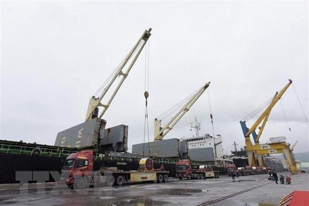 Exporta corporacion vietnamita cinco mil toneladas de chapas de acero a Malasia hinh anh 1