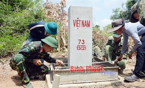 Completa provincia vietnamita la demarcacion con Camboya hinh anh 1