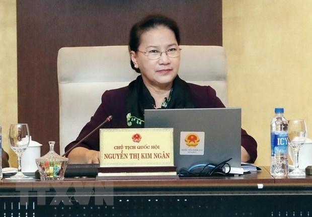 Clausuran la 33 Reunion del Comite Permanente del Parlamento de Vietnam hinh anh 1