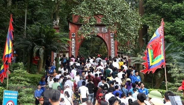 Recibio Phu Tho a siete millones de visitantes durante festival en honor a los reyes Hung hinh anh 1