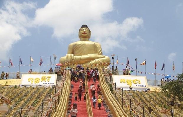 Aumento la llegada de turistas a Camboya durante la fiesta del Chol Chnam Thmay hinh anh 1
