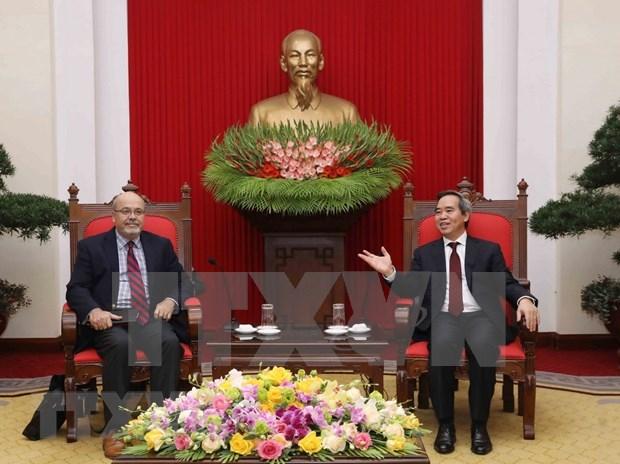Pide Vietnam continua asistencia del FMI para su desarrollo hinh anh 1