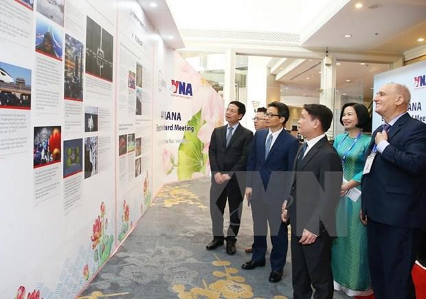 Inauguran reunion 44 del Comite Ejecutivo de la OANA: Por un periodismo profesional y creativo hinh anh 2