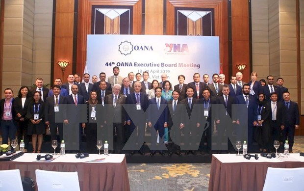 Inauguran reunion 44 del Comite Ejecutivo de la OANA: Por un periodismo profesional y creativo hinh anh 1