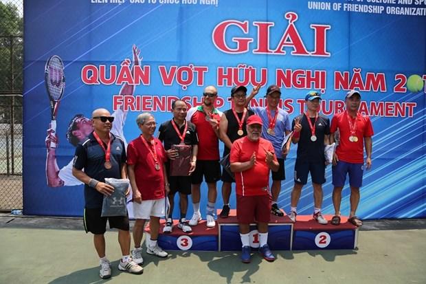 Hanoi busca fomentar solidaridad internacional a traves de torneo de amistad hinh anh 1