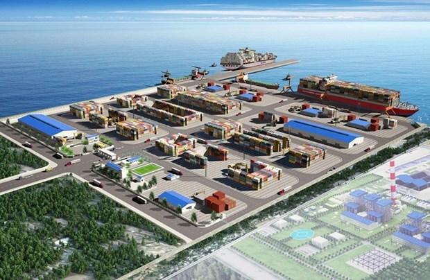 Ponen en marcha el puerto maritimo internacional en provincia survietnamita hinh anh 1