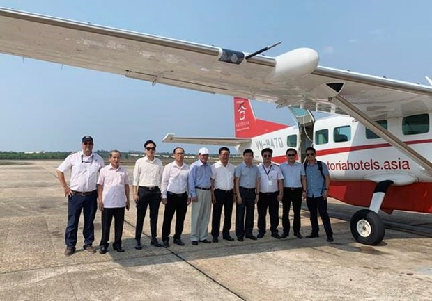 Ofreceran servicios aereos para observar imagenes de Phong Nha-Ke Bang hinh anh 1