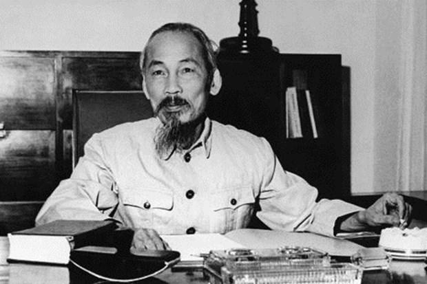 Exhiben mas de 920 libros sobre Presidente Ho Chi Minh hinh anh 1