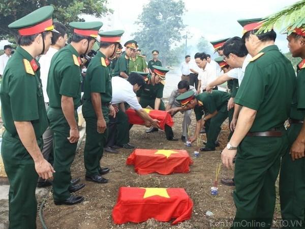 Intensifica Vietnam busqueda de restos de martires caidos en Camboya hinh anh 1