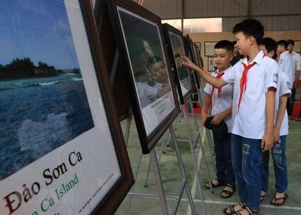 Inauguran exposicion digital sobre archipielagos de Hoang Sa y Truong Sa hinh anh 1