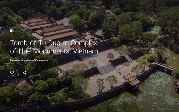 Digitalizan la tumba del Rey Tu Duc para proyecto de Google hinh anh 1