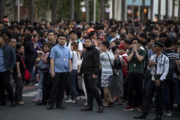 Terremoto en Filipinas provoca al menos dos muertos hinh anh 1