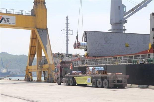 Exporta Vietnam 15 mil toneladas de acero laminado en frio a Mexico hinh anh 1