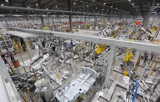 Registra produccion industrial de Ciudad Ho Chi Minh su cifra mas alta en el ultimo quinquenio hinh anh 1