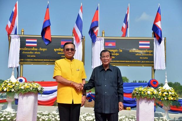 Tailandia y Camboya reabren linea ferroviaria luego de una pausa de 45 anos hinh anh 1